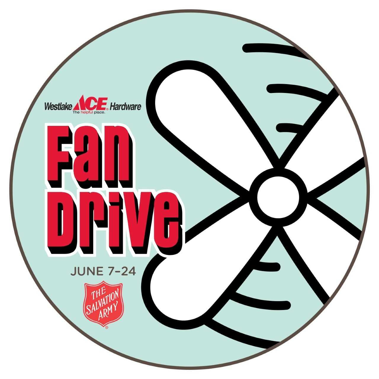 Salvation Army Fan Drive