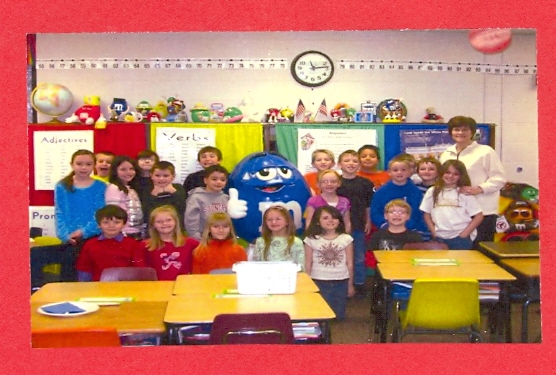 Photo of 2nd grade class